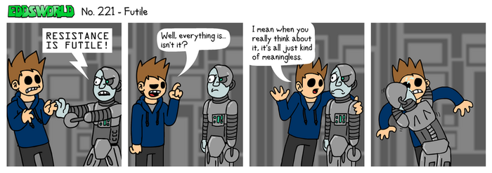 EWCOMIC No. 221 - Futile by eddsworld