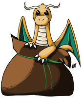 Bag of Dragonite by treaclesnivy