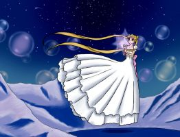 Princess Serenity by Mr-Prince-007