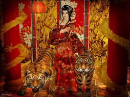Oriental Beauty by Seinendre