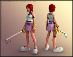 Kingdom Hearts : Kairi by HazardousArts