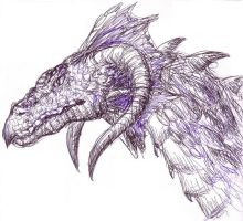 Ballpoint Pen Dragon no. 2 by elosc
