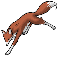 A fox I pixeled up by Lyystra