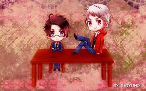 HETALIA Austria and Prussia by Saiyond