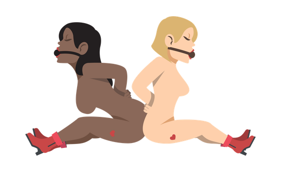 Bound Beauties Emoji by cristeal