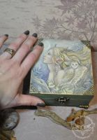 Silvana  ART box by JannaFairyArt
