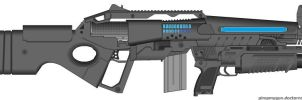 PCM M24X1 Assault Rifle by Marksman104