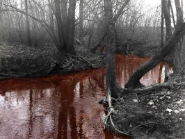 River of Blood by WayfaringAngel