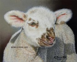 """Lamb I Am"" - Realism by robybaer"