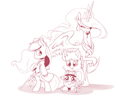 Tumblr Quartet by bronyseph