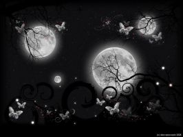 Nocturnal Wallpaper by DeaApocopia