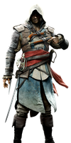 Rare Assassins Creed IV Render By Ashish913 by Ashish-Kumar