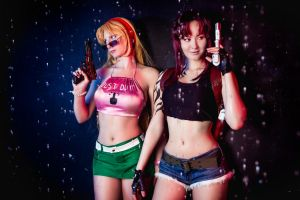Revy and Eda - Black Lagoon ~ by OniksiyaSofinikum