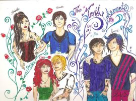 TMI characters finished by IsabellaGGlez