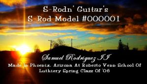 Possible Guitar Label.... by Srod