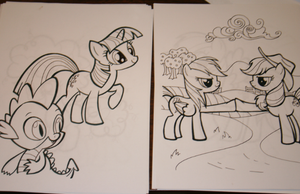 Coloring Book Page 7 by SoarinPie