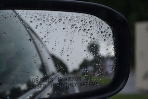 Raindrops In The Rearview by Laugh-ter