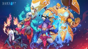 Keyart Duelyst Ancient Bonds by Nicolasaviori