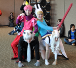 Adventure Time Genderbend Cosplay by Tacotits