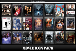 Movie Icon Pack 32 by FirstLine1