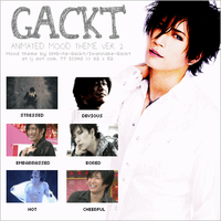 GACKT Animated Mood Theme Ver2 by iwannabegackt