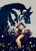 Little Red Riding Hood by davidepascutti
