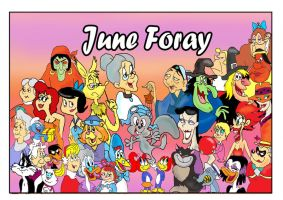 June Foray by raggyrabbit94