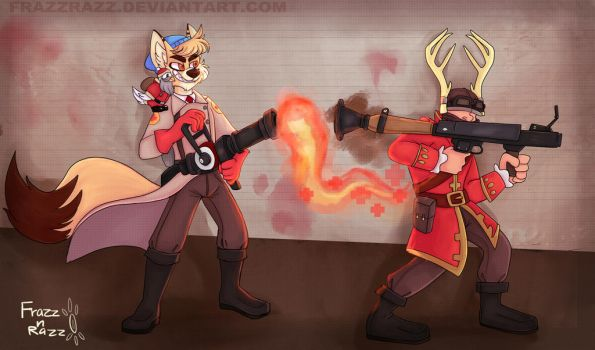 TF2 comission by FrazzRazz