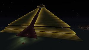 giant Pyramid (Minecraft 360) by 4sights