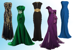 Evening Gowns by Parvati1980