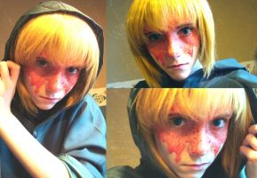 Armin makeup test by NekoLolipop