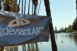 deviantART at Echo Park by Resaturatez