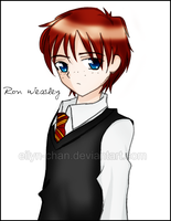 Ron Weasley by Eilyn-Chan