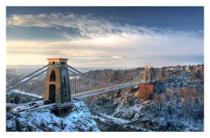 Clifton Suspension Bridge by northernmonkeyz
