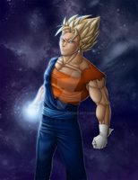 SSJ Vegetto by Sajren91