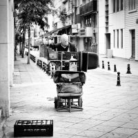 Shoe Seller by Masisus