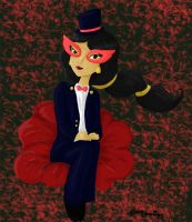 Jasmine as Tuxedo Mask by VanaVanille