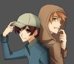 Ouran - HxH - Cap and Hoodie by gem2niki