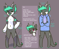 Ref sheet by jixico