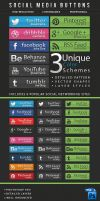 Professional Social Media Buttons (Graphicriver) by TriigzHD