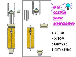 Costom Sonic Screwdriver by Elkaddalek