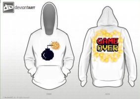 8-bit Bomb GAME OVER by ToPendi