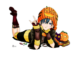 Happy New Year! ...and Happy Halloween... by Cam-san