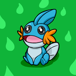 Mudkip doodle by Britno