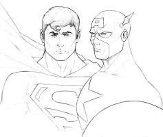 SUP' and CAP' United -WIP by Spidertof