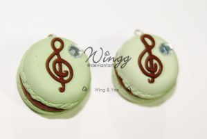 Musical Macaron by Wingg