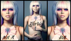 Kerli Banner-Not A Barbie Doll by xXxsilentxsorrowxXx