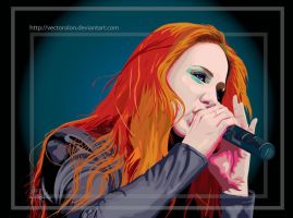 Simone Simons Vector by Vectorolon