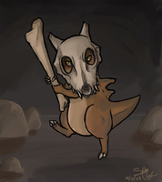 Cubone by Thechemist57