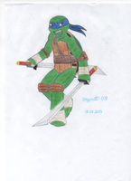 TMNT Leo by WhiteOutMind